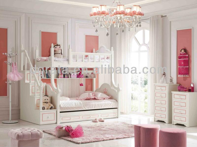 Slaapkamer Nina Bureau : Barbie Bunk Bed Set