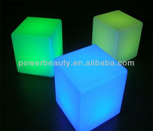 popular remote control RGB led cube seat outdoor party