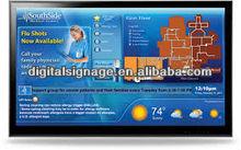 55'' Digital web based ad. display screen