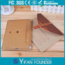 for ipad pu leather case for ipad 4, detachable case for ipad 3 leather