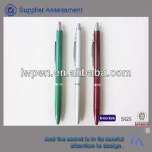 half metal ballpoint pen