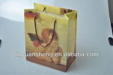 angel baby plastic carry bag design