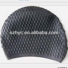 Classical Bubble Design Silicone Cap For Swimming Hot Item