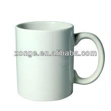 11OZ cermic coffee mug for sublimation printing white blank wholesale
