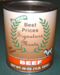 All Natural Beef Chunks