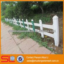 Hebei Shuolong BV Certificate pvc palisade garden fence,pvc lattice fence,