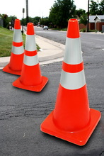 High quality soft pvc cone safety