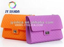 Wholesale Women/Lady/Girl Fashion Silicone Rubber Handbag