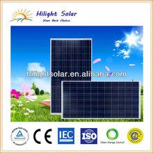 Solar panel price, solar panel 250W Chile, lowest price polycrystalline 250W solar panel for 1kw solar power system