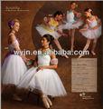 De la muchacha 2015 elegent largo de ballet de danza tutu/traje- women's' falda de baile- niños y adults'dancewear- de ballet costumet