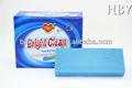 La ropa azul de la barra de jabón 500 g