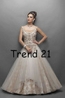 new style westren wedding dress