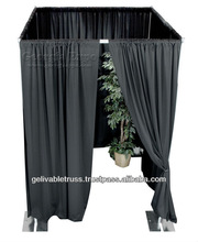 Events backdrop cheap used pipe drape pipe and drape