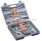 89pcs sockets and wrenches hand tool kit , auto repair tool set