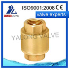 china low price spring brass cw617n brass check valves manufacturer
