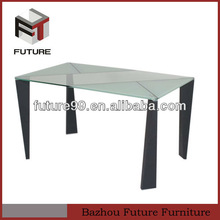 Printing Tempered Glass Dining Table