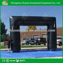Hot newly promotional kids house shape commercial pvc inflatable advertising arch for sale