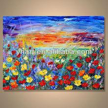 Modern popular decorative handmade excellent oil painting