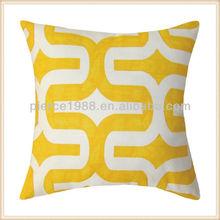 cheap orange yellow decorative throw pillows