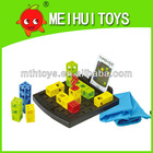 Intelligence jumping box toys,plastic jumping game toys,plastic intelligence toys for baby