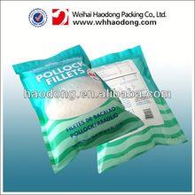 custom plastic flexile packaging color printing plastic bag for rice