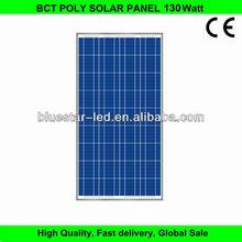 New desiging competitive price 130 watt solar panel