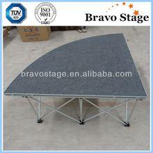 Adjustable aluminum stage leg, aluminum truss stage