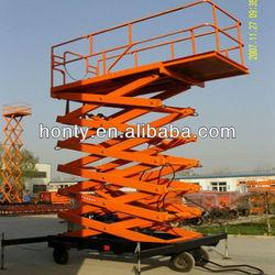 aerial electric platform lift
