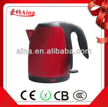 cordless travel kettle AN-188C red