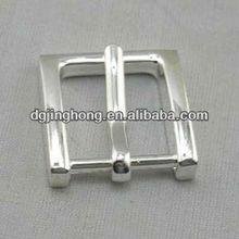 fashion zinc alloy leather belts buckle(25mm)