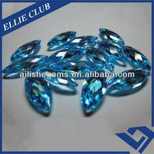 AAA Aquamarine Marquise Cut Jewellery Zirconia Stones