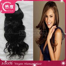 hot hair 6a grade malaysian virgin hair,natural wave malaysian hair weft