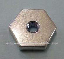 Carbon steel thin hex nut for sensor equipment oart