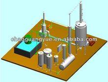 waste tyre pyrolysis plant to diesel oil