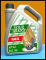 sae 140 de aceite del engranaje
