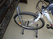 outdoor customized bicycle bike rack for single bike for parking