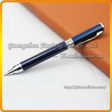 elegant Sapphire hot selling metal ballpoint pen with logo printing JDB-Y63