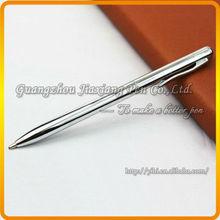 silver metal ball pen with logo printing JDB-Y64