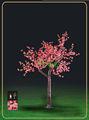 Ao ar livre de estrada levou azaléia árvore, Iluminadas artificiais árvores ( DL-LT061 )