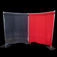 telescopic pipe and drape backdrop