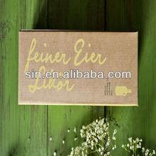 viscose custome boxes paper cardbaord CIQ packaging