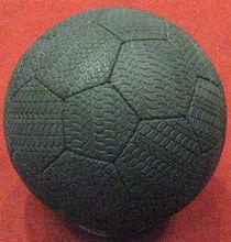 Rubber (TIRE) Soccer Ball