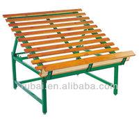 Wooden-steel vegetable/fruit display rack RHB-039