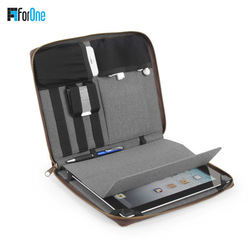 PU sleeve for ipad mini protect tablet case/luxury PC cover stand