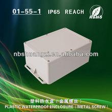 ABS plastic watertight dustproof electronic enclosure