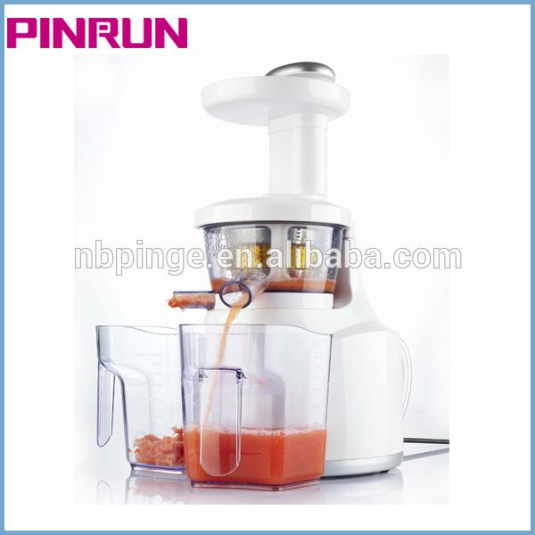 Pinrun 2013 fruit orange juicer Low speed/Silence/PEI/ULTEM/Screw type
