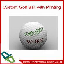 Most Popular Logo Customized Promotional Golf Ball