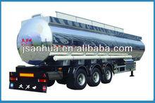 Super Sigle Tyre Three-axle 42000L Diesel Tanker Semi Trailer On Sale In Trailer Truck