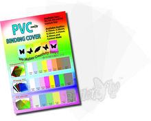 Plastic PVC Binding Cover