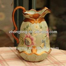 Royal Large Single Antique Grave Flower Ceramic Vase